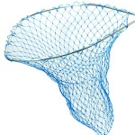 fishing net - Blue Poly Bag
