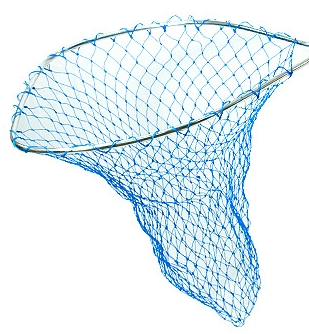 Blue Poly Net Bags