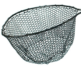 Lightweight Rubber Fishing Net with yoke
